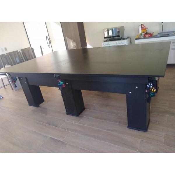 Mesa de bilhar e jantar sinuca